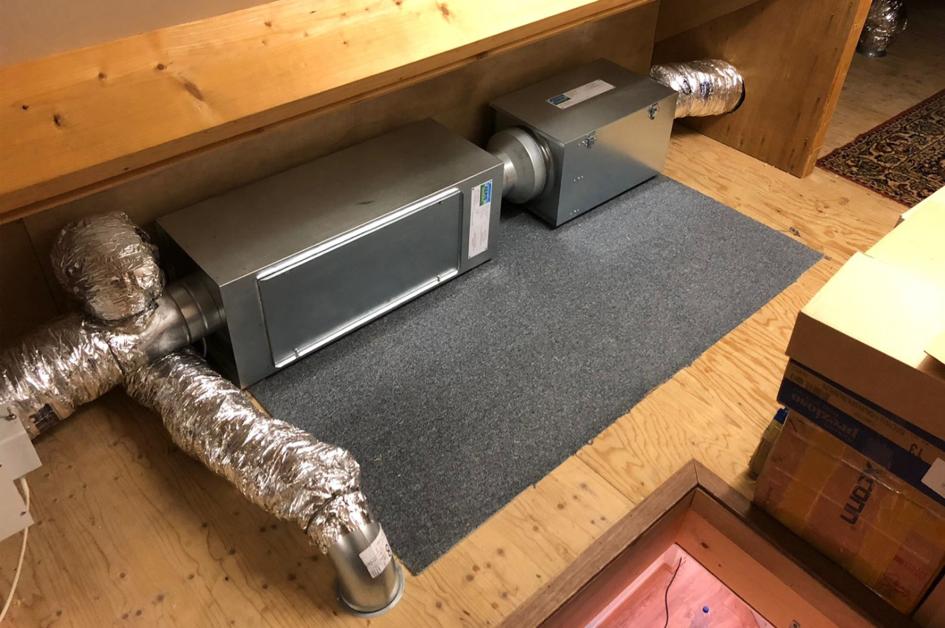 AERIS FFU Ventilatiesysteem